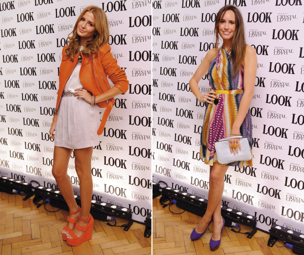 Mille Mackintosh and Louise Roe at the LOOK 5th birthday party at One Marylebone