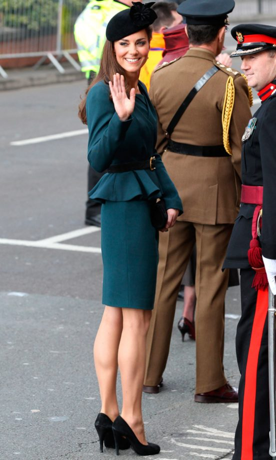 Kate Middleton Stunned In A L.K Bennett Suit And James Lock Hat, 2012
