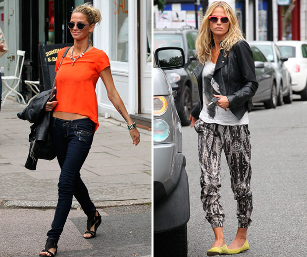 Celebrity Casual Style Watch Sarah Harding Look