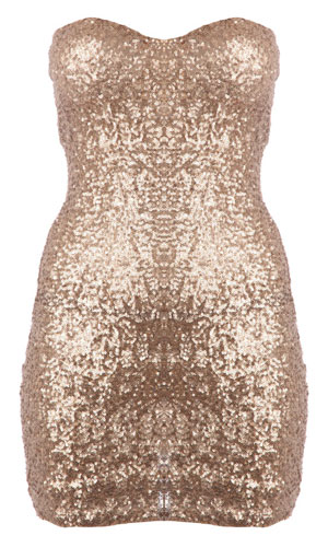 Missguided Sequin Glitter Party Dress, Shop Best Party Dresses Here, 2012