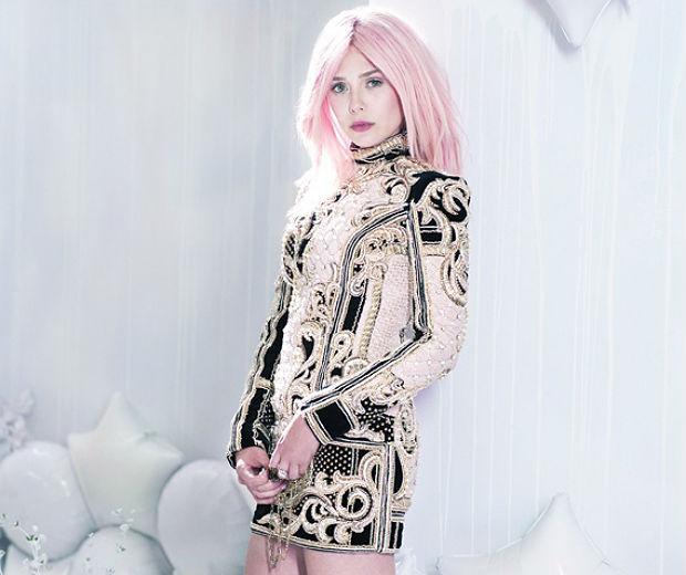 Elizabeth Olsen Has Pink Hair: Fab New Pics!