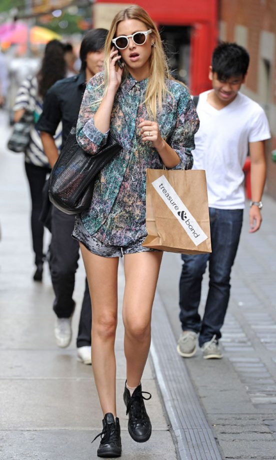 celebrity street style the best casual fashion of 2012