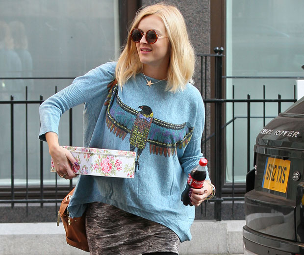 Fearne Cotton has been spoiled with cake on her 31st birthday