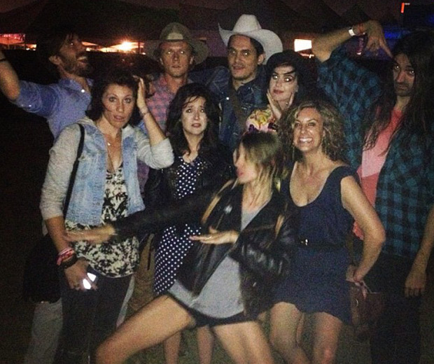 Katy Perry, John Mayer, Shannon Woodward and pals at FYF!
