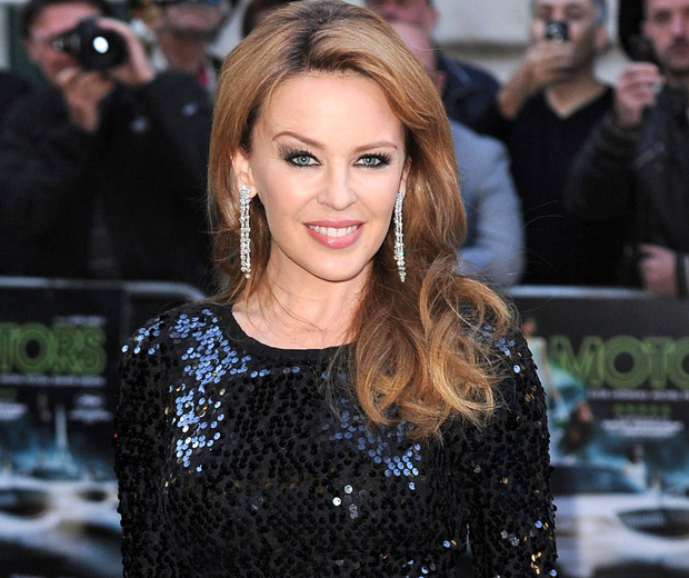 Kylie Minogue looks a bit less glam than this in Holy Motors