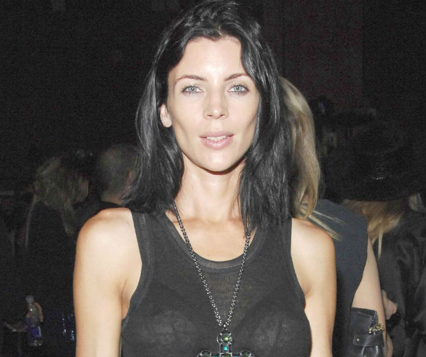 Liberty Ross made her first public appearance since her husband's affair at NYFW