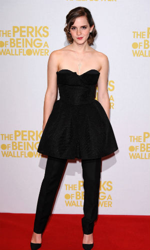 Emma Watson at The Perks Of Being A Wallflower Premiere