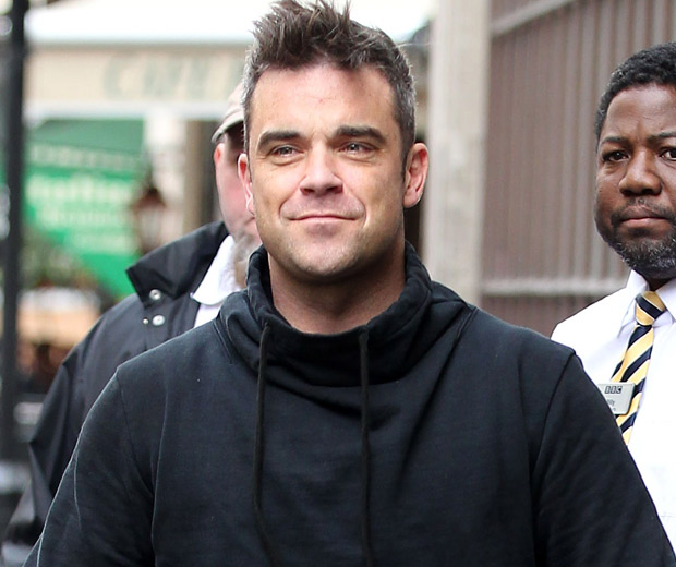 Robbie Williams is a dad!