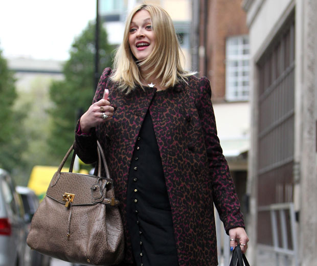 Pregnant Fearne Cotton Headed To Oxford Street Today To