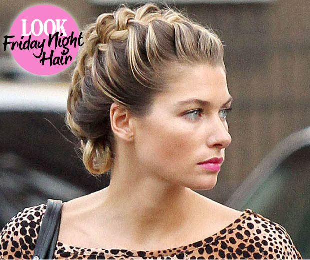 Hairstyle How-To: French Plait Updo | Look