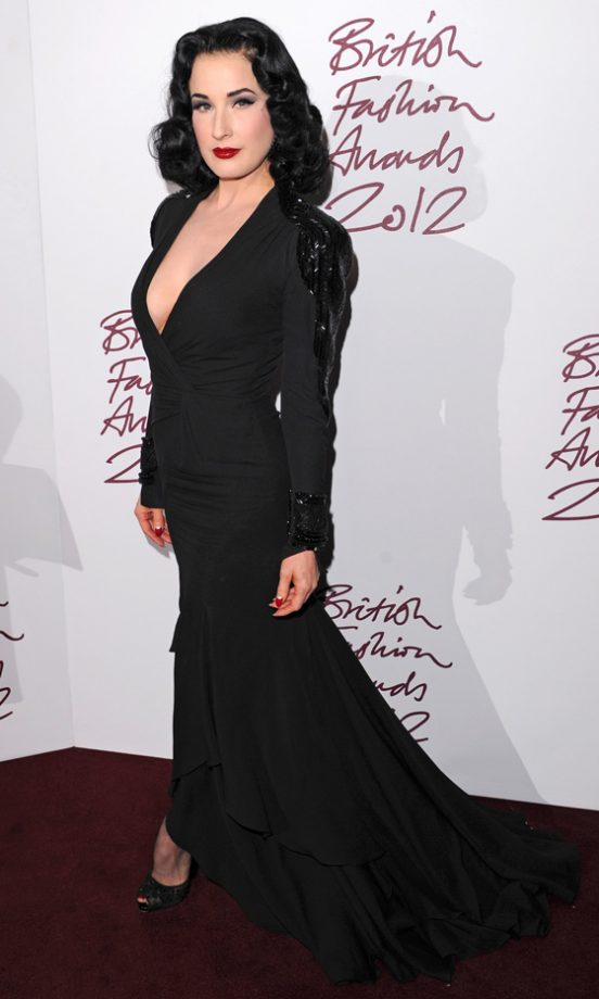 The British Fashion Awards 2012: See All The Pictures