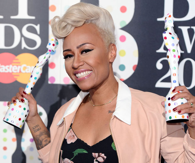 Emeli Sande admitted that winning two BRIT Awards felt like a