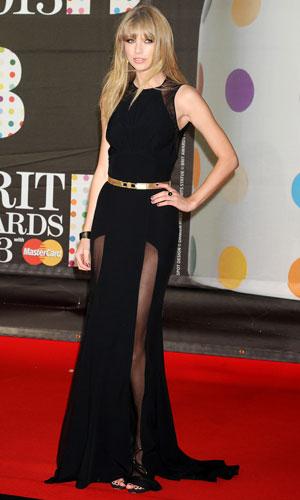Taylor Swift at the BRIT Awards, 2013