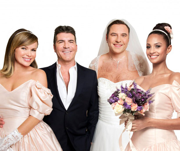 Simon Cowell Gets Married In Comic Relief Special Look