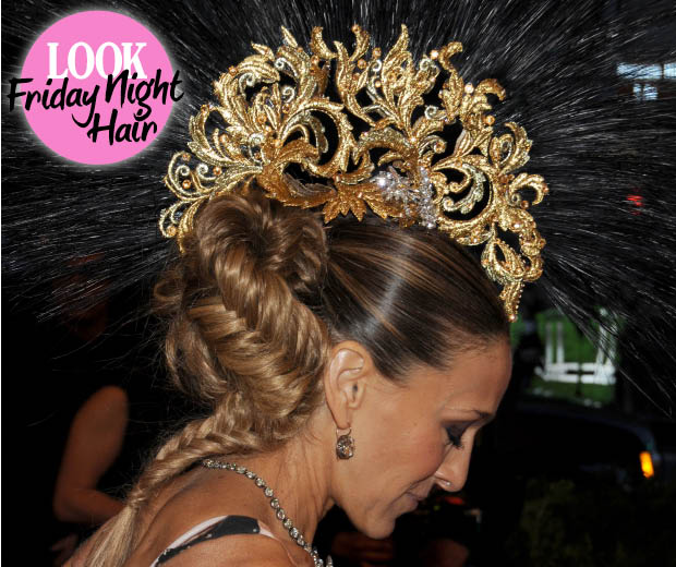 SJP shows you how to rock a serious fishtail plait