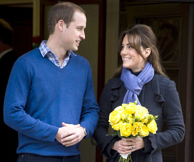 Royal Baby Update: Kate Middleton & Prince William Talk