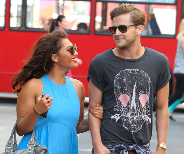 The Saturdays' Vanessa White Gives Boyfriend Gary The Look ...