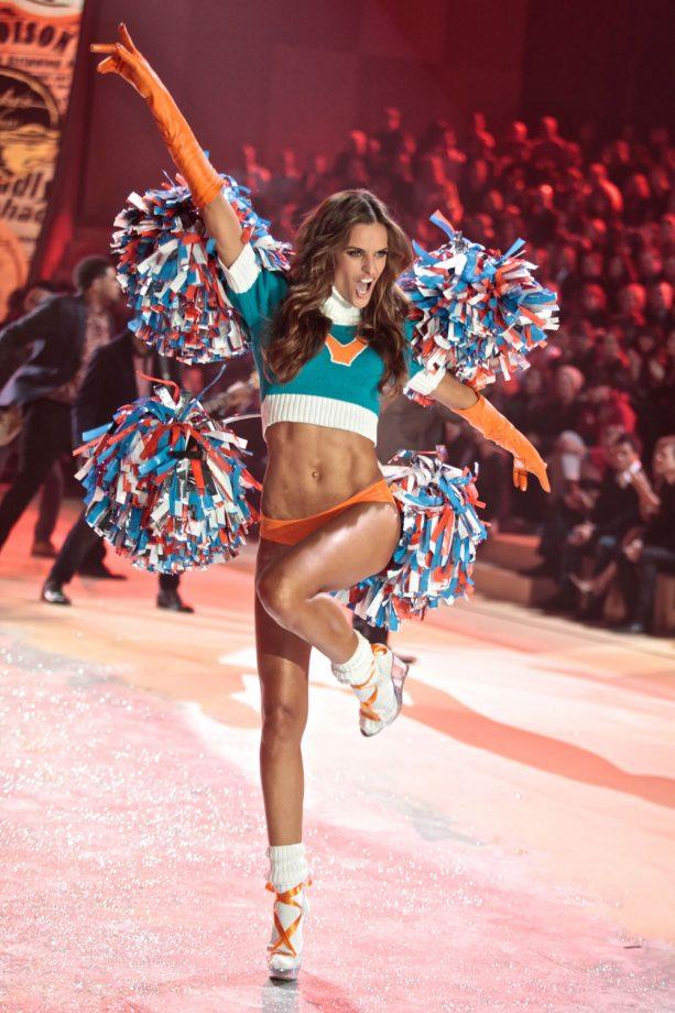 Izabel Goulart At The Victoria's Secret Fashion Show, 2012