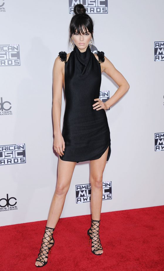 Kendall Jenner At The American Music Awards, 2015