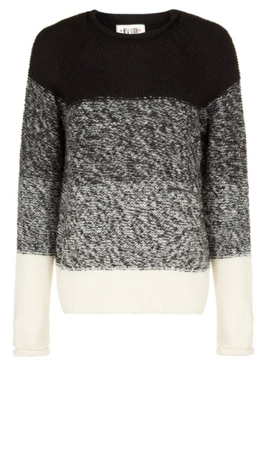 New Look Promo Ombre Knit, £14.99