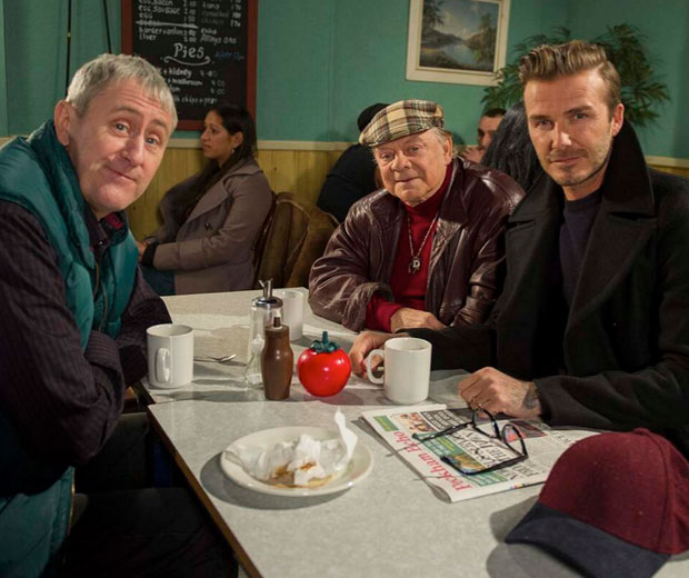 David Beckham is making a cameo in Only Fools & Horses