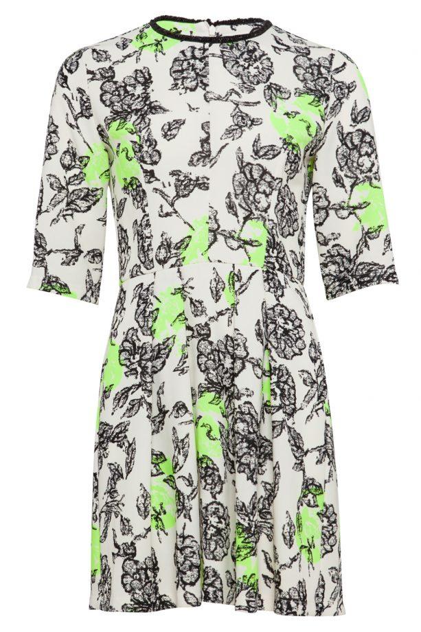 Asos Flower Fluro Embelished Shift Dress, £65