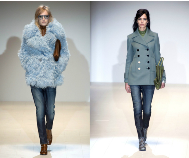 Gucci's blue jeans are all we want for AW14
