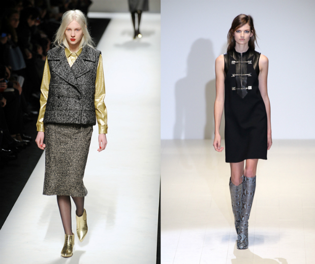 Max Mara and Gucci show us how to rock croc and python for AW14