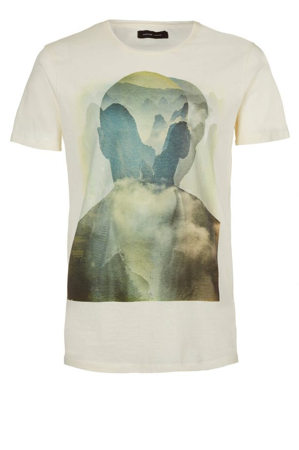 Topman Selected Homme White T-Shirt, £18