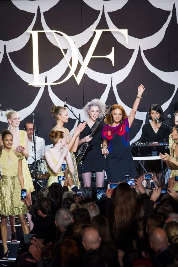 Diane von Furstenberg Autumn/Winter 2014 Show At New York Fashion Week