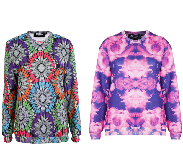 We love these new Jaded London sweaters