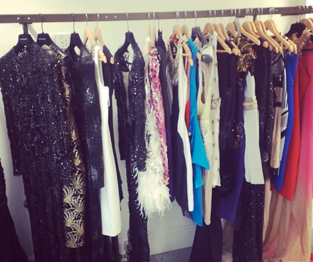 Millie Mackintosh gives us a behind-the-scenes peek at her glamorous Fashion Week prep