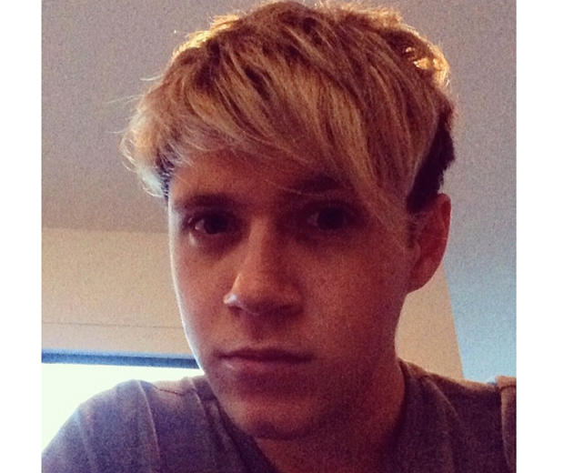 NIall shows off the results of his recent haircut on Instagram