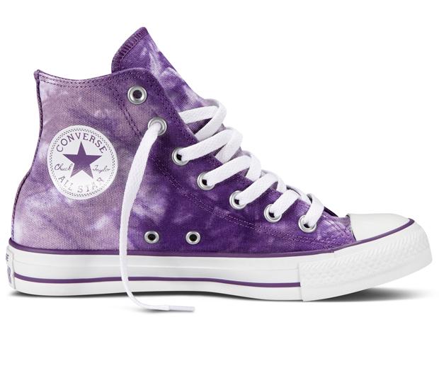 LOOK Loves: Converse's Cool Tie-Dye Kicks