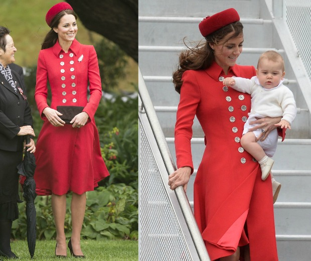 Kate Middleton Does A Jackie O In New Zealand Look
