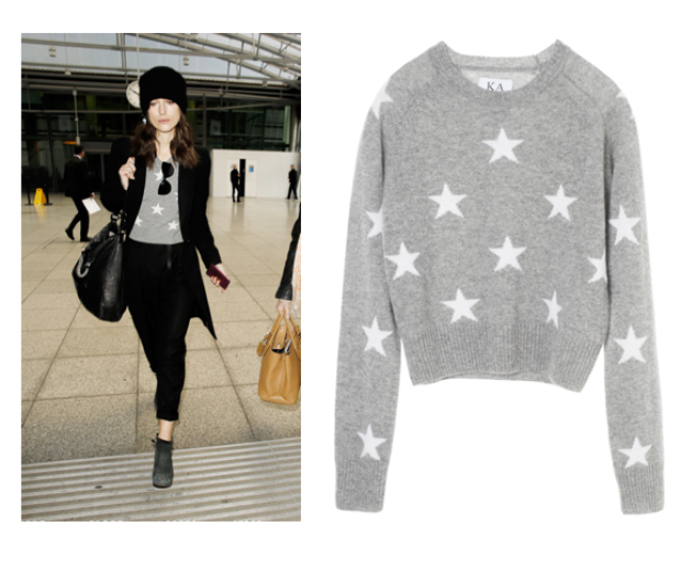 Keira chooses Zoe Karssen's stars, available for £82.70 from the brand's website