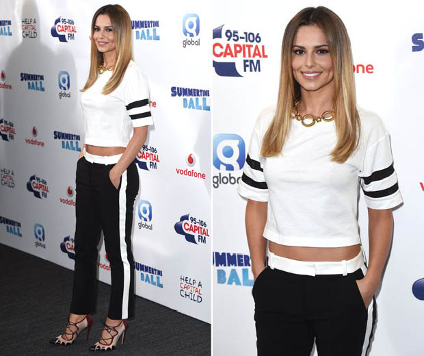 Chery Cole rocks monochrome look at Capital FM's Summertime Ball