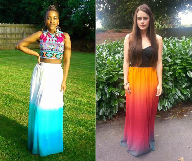 Whether you go for block colour or a melange of shades, dip-dye is your maxi's new bff