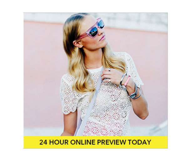 It's here! Shop the Debenhams sale online for 24 hours before it hits stores