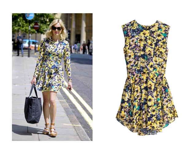Steal Fearne's style and head to H&M for this floral frock
