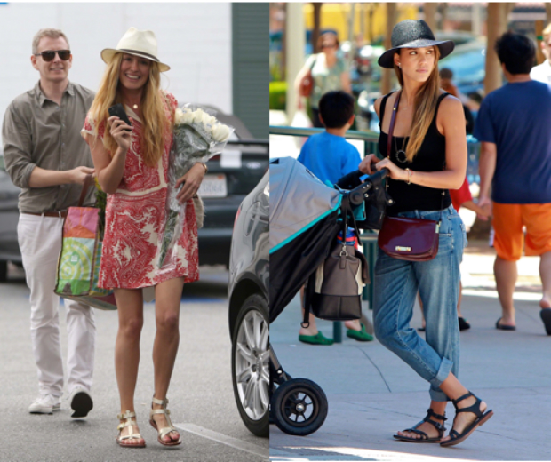 Cat Deeley and Jessica Alba have both been seen rocking Matt Berson's super chic glads