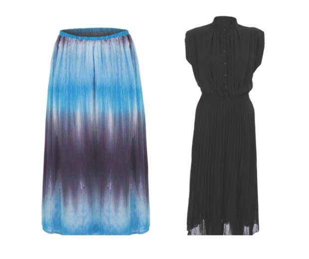 Tie Dye? Tick. Pleats? Tick. This is one on-trend summer drop!