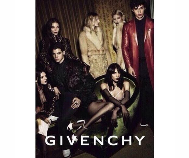 Kendall Jenner goes glam gothic in her new Givenchy campaign
