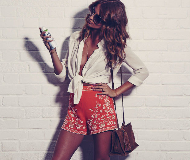Millie Mackintosh shares her top tips on looking festival-ready in Sure collaboration