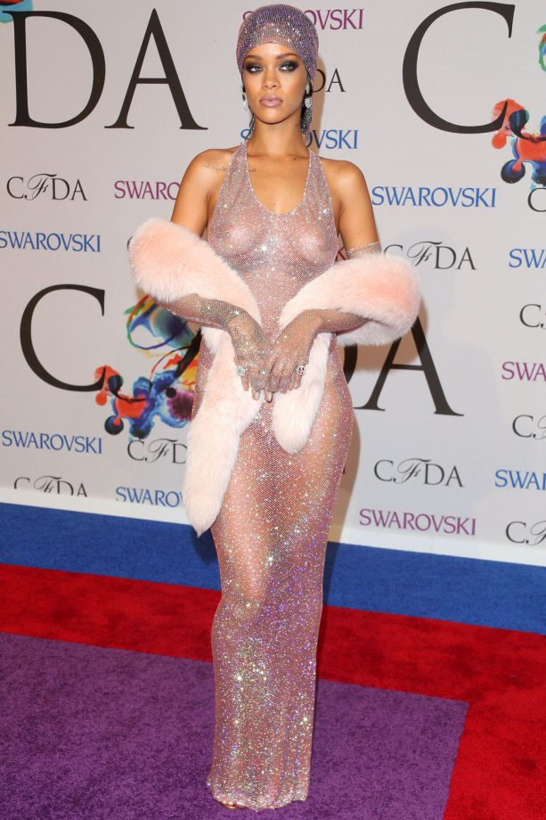 Rihanna Hits The CFDA Fashion Awards, 2014