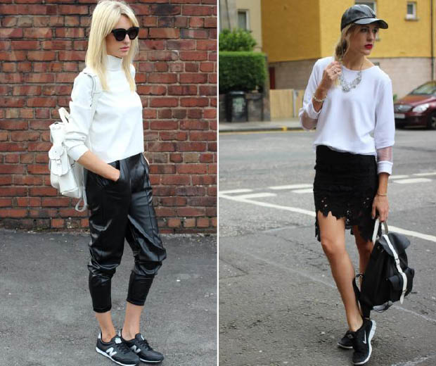 Investing In Street Appeal With Style: Street Style: How To Do Sports Luxe