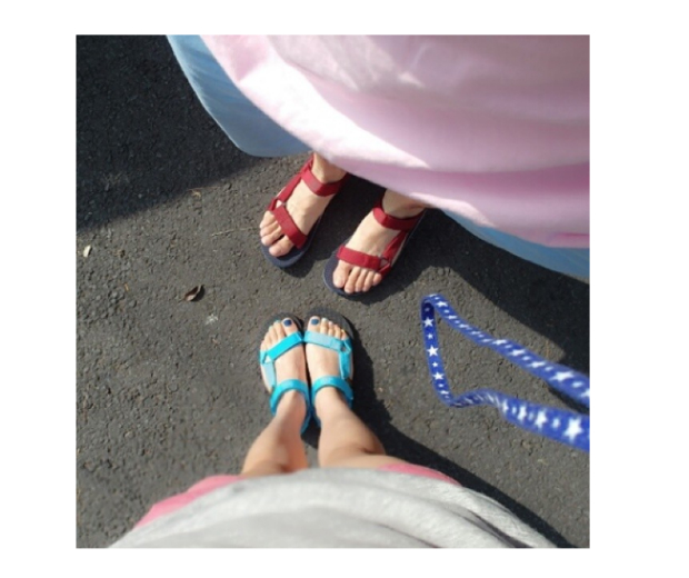 Instagram is awash with Teva sandals