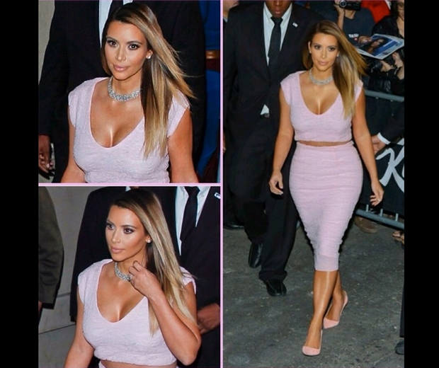 Kim's pretty pink Dior combo is now available to buy on eBay