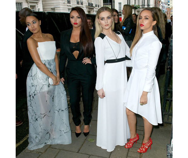 Little Mix had a sleek and chic makeover for the Women Of The Year Awards