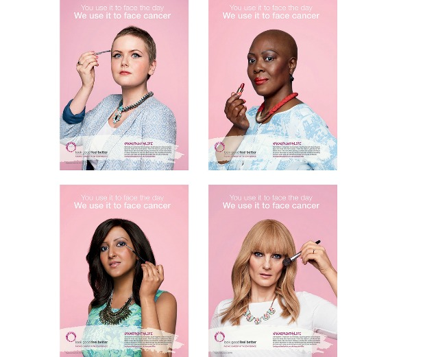 Look Good Feel Better's new campaign warpaint4life was created entirely by volunteers